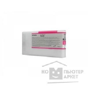Расходные материалы Epson C13T653300 Stylus Pro 4900 Ink Cartridge 200ml : Vivid Magenta