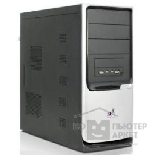Корпус SuperPower MidiTower SP 3330-CA черный  350W  USB/ AU/ 24pin/ S-ATA mATX