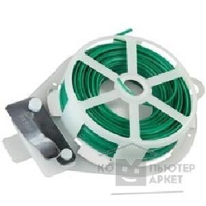 Проволока подвязочная плоская, RACO 42359-53633C, с покрытием ПВХ и диспенсером, в пластиковой обойме, 30м [42359-53633C]/RACO 42359-53633C 42359-53633C