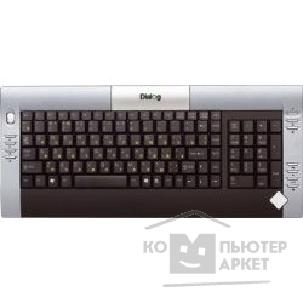 Клавиатура Dialog KF-2SP, Favourite Keyboard, PS/ 2, Silver