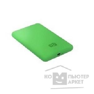 "носитель информации 3Q Portable HDD 500GB, rubber coating green, 2.5"" SATA HDD 5400rpm inside, USB 2.0, HDD-U285-GG500"