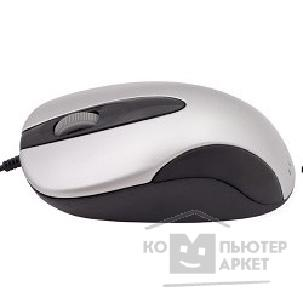Мышь Oklick 151M white silver / black optical mouse, PS/ 2, 800dpi