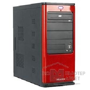 Корпус SuperPower MidiTower SP 6225-W2 Black-Red  450W  USB/ AU/ SATA
