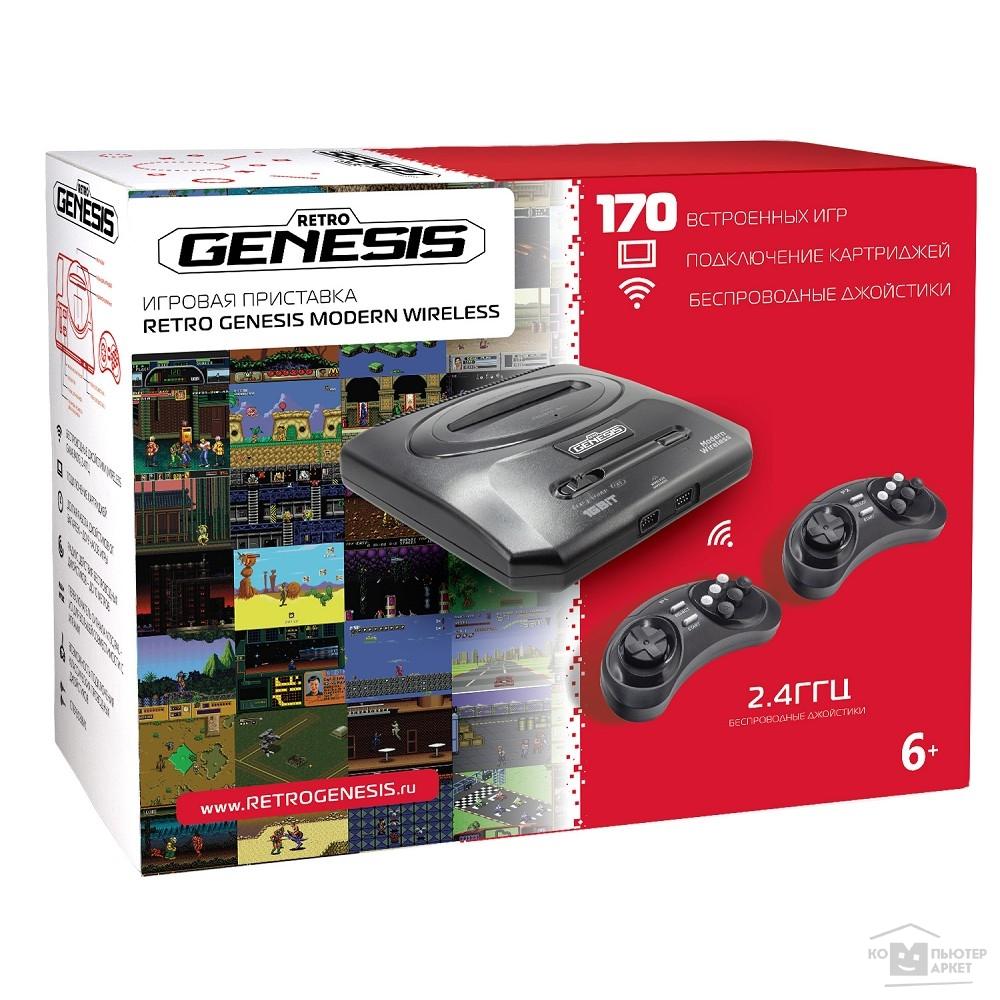 SEGA Retro Genesis Modern Wireless +170 игр +2 беспр. джостика 2,4ГГц [ConSkDn78]/SEGA ConSkDn78 ConSkDn78