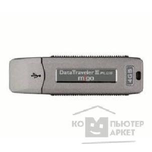 Носитель информации Kingston USB 2.0  USB Memory 4Gb, DTII+M/ 4GB Migo Edition