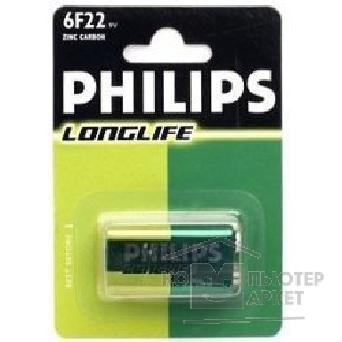 Philips Эл. пит.  6F22-1BL Long Life