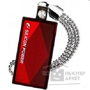 Носитель информации Silicon Power USB 2.0  USB Drive 32Gb, Touch 810 [SP032GBUF2810V1R], Red
