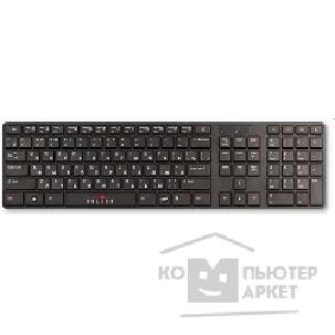 Клавиатура Oklick 555S Multimedia Keyboard USB+USB порт  черный