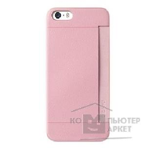 Чехол Ozaki O!coat 0.3 + Pocket case for iPhone 5/ 5S. Pink OC547PK