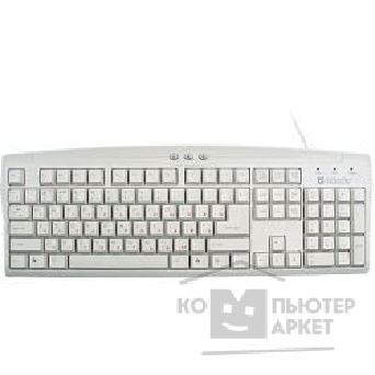 Клавиатура Defender Keyboard  E KS-940W белая , USB, провод. кл-ра