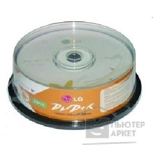Lg Диски  DVD+R 4.7Gb, 16x, Cake Box 25шт.