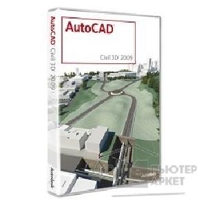 Программное обеспечение Autodesk 237A1-20A211-1001 AutoCAD Civil 3D 2009 Commercial New NLM RU