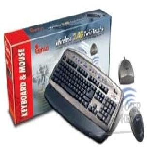 Клавиатура Genius Keyboard  Wireless 2.4G TwinTouch+, PS/ 2  беспр.клав.+ мышь