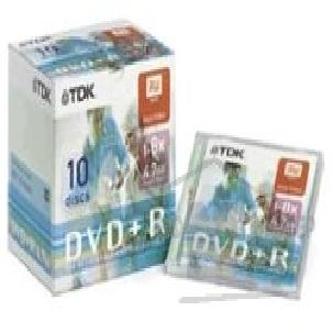 Диск Mirex DVD+R 8x, 4.7 Gb, TDK, Jewel Case