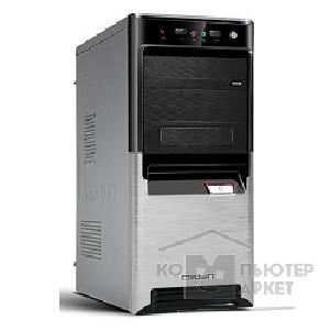Корпус Crown Корпус Miditower CMC-SM164 black/ silver ATX CM-PS500W smart