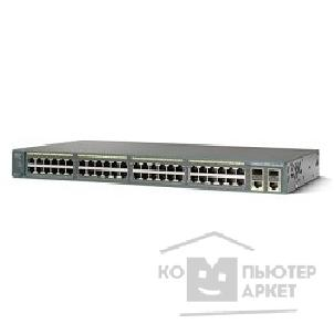 Сетевое оборудование Cisco WS-C2960-48PST-S Catalyst 2960 48 10/ 100 PoE + 2 1000BT +2 SFP LAN Lite Image