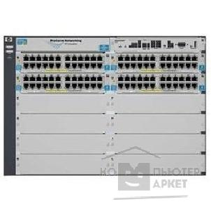 Сетевое оборудование Hp J8700A ProCurve Switch 5412zl-96G 12-slot chassis Managed, Layer 3/ 4 router, Stackable 19', incl 54