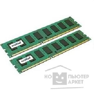 ������ ������ Crucial DDR-III 4GB PC3-10600 1333MHz Kit 2 x 2GB [CT2KIT25664BA1339]