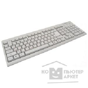 Клавиатура Gembird Keyboard  KB-8300-R, PS/ 2 белая-бежевая