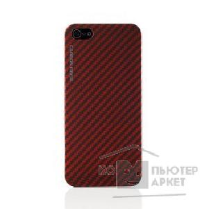 Чехол gmini mCase Carbon Red MCI5C1 iPhone 5/ 5S, real carbon