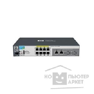 Сетевое оборудование Hp J9298A  E2520-8G-PoE Switch 8 ports 10/ 100/ 1000 PoE + 2 10/ 100/ 1000 or 2 SFP, Managed, Layer 2, F