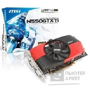 Видеокарта MicroStar MSI N550GTX-Ti-M2D1GD5 RTL, 1GB GDDR5, Shield FAN, mHDMI, Dual DVI-I, PC, PCI-E