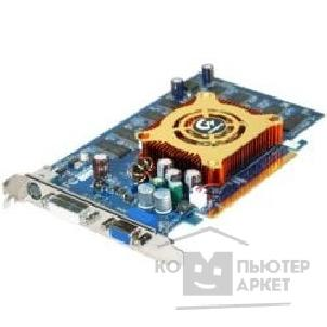 Видеокарта Gigabyte GV-NX66T256D, RTL  GF 6600GT, 256Mb DDR, TV-out, DVI  PCI-E