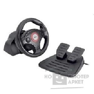 Руль Trust Руль GM-3200 Compact Vibration Feedback Steering Wheel PC-PS2-PS3 black USB