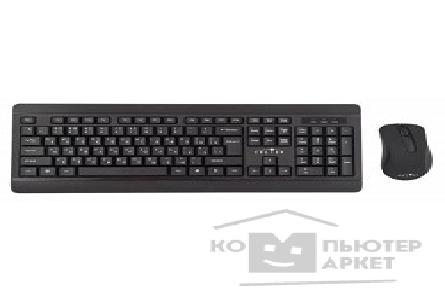 Клавиатура Oklick 270M black USB, Клавиатура + мышь [337455]