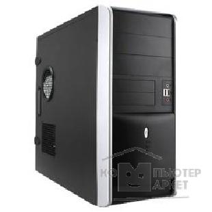 Корпус Inwin Midi Tower  EA-007BS Black 400W ATX [6003057/ 6007495]