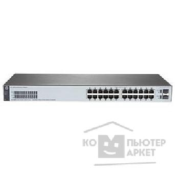 Сетевое оборудование Hp J9980A  1820-24G Switch  WEB-Managed, 24*10/ 100/ 1000 + 2*SFP, Fanless, Rack-mounting, 19""