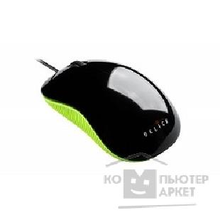 Мышь Oklick 165M black/ green 1000dpi USB