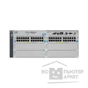 Сетевое оборудование Hp J8699A ProCurve Swtich 5406zl-48G 6-slot chassis Managed, Layer 3/ 4 router, incl.5406-zl+2x24 ports