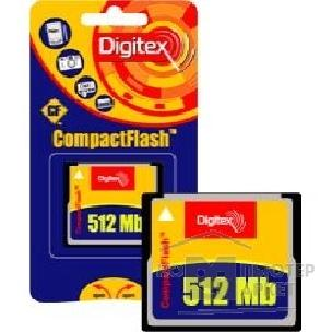 ����� ������  Digitex Compact Flash  512Mb FMCF-0512