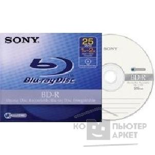 Диск Verbatim BNR25A Диски BD-R SONY 2x, 25Gb, Jewel Case