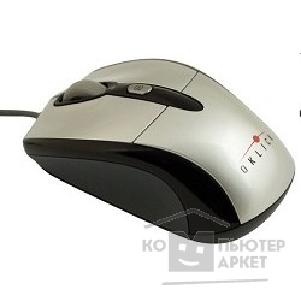 ���� Oklick 520S grey-black optical mouse, USB, 800/ 1600dpi