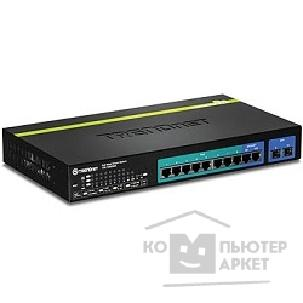 Сетевое оборудование TRENDnet TPE-1020WS 10-port Gigabit Web Smart PoE+ Switch 10port 10 / 100 / 1000Mbps+2Combo 1000BASE-T / SFP