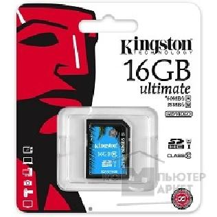 Карта памяти  Kingston SecureDigital 16Gb  SDA10/ 16GB