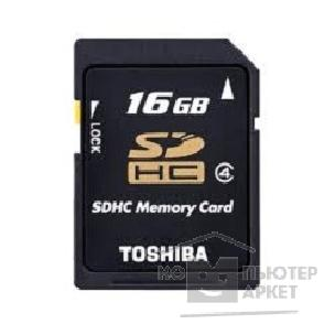 Карта памяти  Toshiba SecureDigital 16Gb  SD-K16GJ