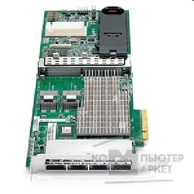 Опция к серверу Hp 487204-B21  Smart Array P812/ 1Gb with Flash BWC RAID 0,1,1+0,5,5+0,6,6+0