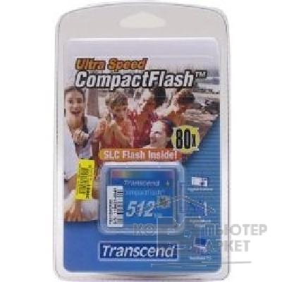 ����� ������  Transcend Compact Flash 512Mb   TS512MCF80 80-x