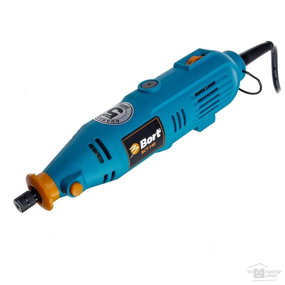 Bort BCT-140 Гравер электрический [98295658] { 135 Вт, 32000 об/мин, 0.6 кг, набор аксессуаров 42 шт }/Bort BCT-140 98295658