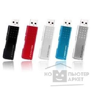 Носитель информации Silicon Power USB 2.0  USB Drive 2Gb, Touch 210 [SP002GBUF2210V1R], red