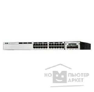 Сетевое оборудование Cisco WS-C3750X-24P-S Catalyst 3750X 24 Port PoE IP Base