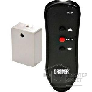 Пульты ДУ к экранам Draper Euroscreen IR [210740] Блок + Пульт ДУ ИК with euro plug remote control Kit