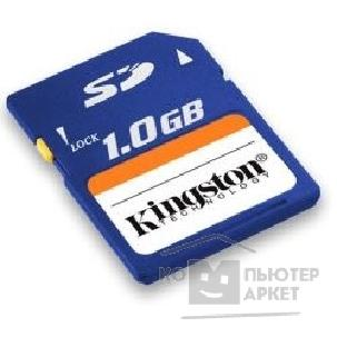 Карта памяти  Kingston SecureDigital 1Gb , SD/ 1GB CS/ CR