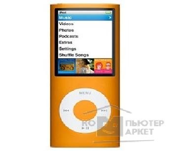 APPLE гаджет MP3 Apple iPod MB911ZP/ A nano 4G 16Gb MP3 плеер orange