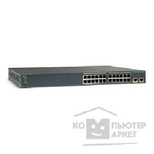 Сетевое оборудование Cisco WS-C2960X-24TD-L Catalyst 2960-X 24 GigE, 2 x 10G SFP+, LAN Base