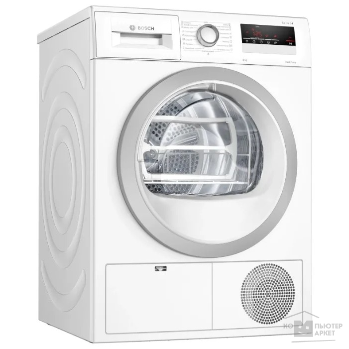 Сушильная машина Bosch WTH85201OE кл.энер.:A++ макс.загр.:8кг белый/Bosch WTH85201OE WTH85201OE