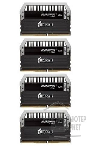 Модуль памяти Corsair  DDR4 DIMM 16GB Kit 4x4Gb CMD16GX4M4A2666C16